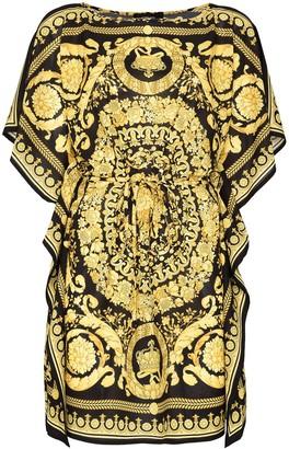 Versace Baroque short kaftan