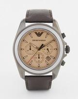 Emporio Armani Sigma Watch Ar6070 - Brown
