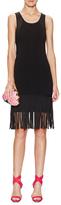 Shoshanna Nicoletta Fringe Sweater Dress