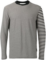 Golden Goose Deluxe Brand striped longsleeved T-shirt - men - Cotton/Linen/Flax - S