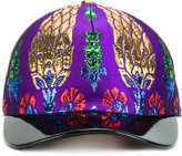 Gucci lurex cap - women - Polyester/Metallic Fibre/Silk/Viscose - M