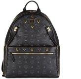 MCM women's leather rucksack backpack travel dual stark