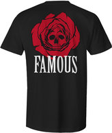 Famous Stars & Straps Men's Dead Rose Graphic-Print Cotton T-Shirt