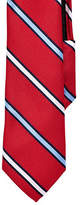 Izod Striped Zip Tie
