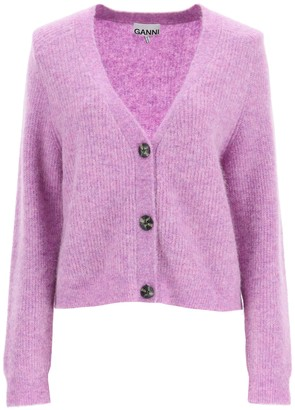 Ganni Recycled Wool Cardigan