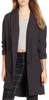 Leith Women's Cozy Long Blazer