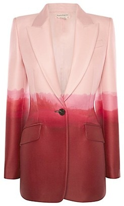 Alexander McQueen Dip-Dyed Tailored Jacket