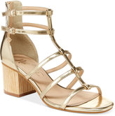 Nanette Lepore Nanette by Rebecca Strappy Block Heel Sandals