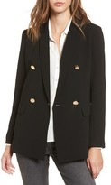 Mural Women's Oversize Double Breasted Blazer