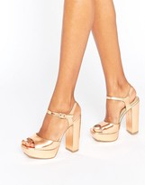 Missguided Platform Heeled Sandals