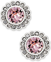 Vera Bradley Silver-Tone Pavé Color Stud Earrings