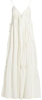 Jonathan Simkhai April Solid Cotton Dress