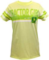 John Deere Melon 'Tractor Girl' Tee - Plus Too