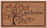 Mohawk home Mohawk® Home Swirly Fall Tree ''Welcome'' Coir Doormat - 18'' x 30''