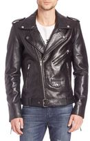 BLK DNM Slim-Fit Leather Biker Jacket