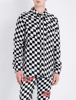 Off-White Checked regular-fit woven shirt