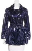 Armani Collezioni Metallic Double-Breasted Jacket
