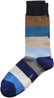 Banana Republic Rugby Stripe Sock