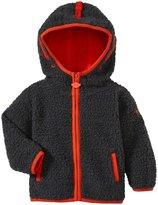 Appaman Sherpa Hoodie (Baby) - Vintage Black-3-6 Months