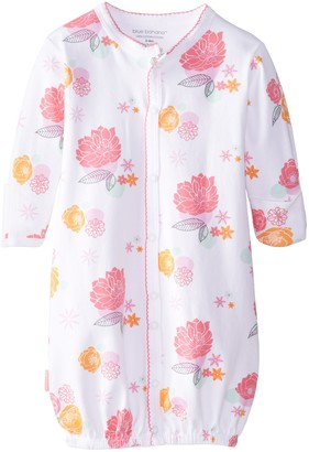 Kushies Baby Pretty Petals Convertible Gown