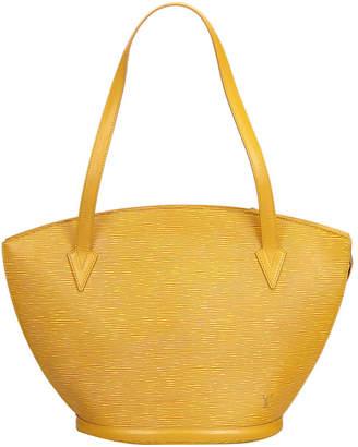 Louis Vuitton Yellow Epi Saint Jacques Long Strap GM Shoulder Bag