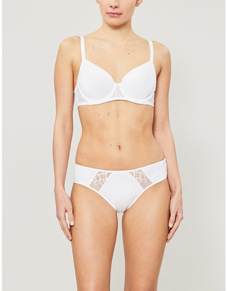 Wacoal Lisse underwired stretch-lace spacer bra