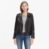 Madewell Washed Leather Swing Jacket