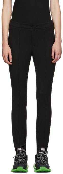 MONCLER GRENOBLE Black Skinny Ski Pant