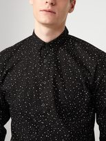 Frank + Oak Splatter Print Poplin-Cotton Shirt