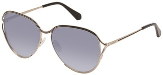 Balmain 59mm Round Metal Sunglasses