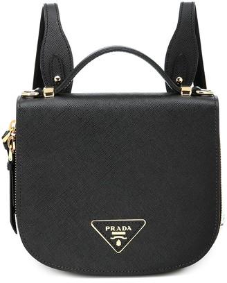 Prada Odette saffiano leather backpack