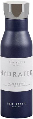 Ted Baker Insulated Water Bottle - 425ml - Navy