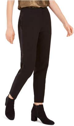 Bar III Tuxedo Satin-Stripe Straight-Leg Pants