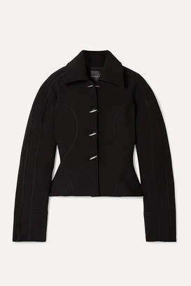 Thierry Mugler Scuba Jacket - Black