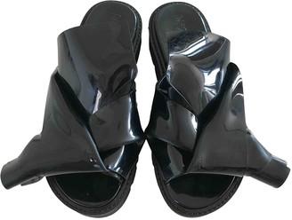 Kartell Black Rubber Sandals
