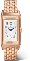 Jaeger-LeCoultre Reverso One Duetto Moon Rose Gold Diamond Watch