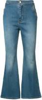 Ellery flared cropped jeans