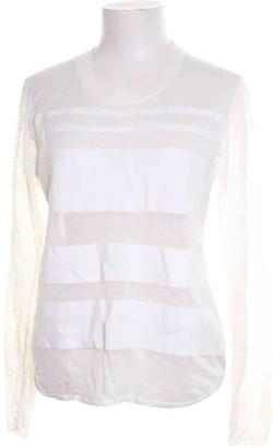 Dagmar White Cotton Top for Women