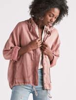 Lucky Brand Tencel Lightweight Hooded Jacket