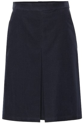 A.P.C. Coco corduroy skirt