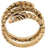 Saint Laurent 'Animalier' serpent ring