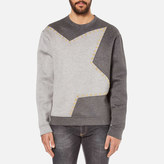 Versace Collection Star Logo Sweatshirt Grey
