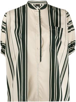 Aspesi Striped Tunic Top