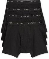 Alfani Men's 4 Pack. Cotton Boxer Briefs, Only at Macy's