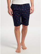 Polo Ralph Lauren Allover Pony Lounge Shorts, Navy