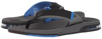Reef Fanning Low (Grey/Blue) Men's Sandals