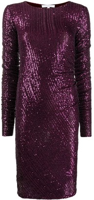 Patrizia Pepe All-Over Sequined Dress