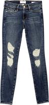 Frame Le Skinny Distressed Jean