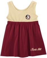 Colosseum Girls Newborn & Infant Garnet Florida State Seminoles Berlin Back Bow Cutout Dress