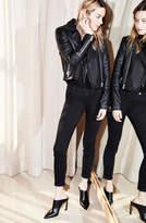 J Brand Alana High-Rise Cropped Super Skinny In Seriously Black